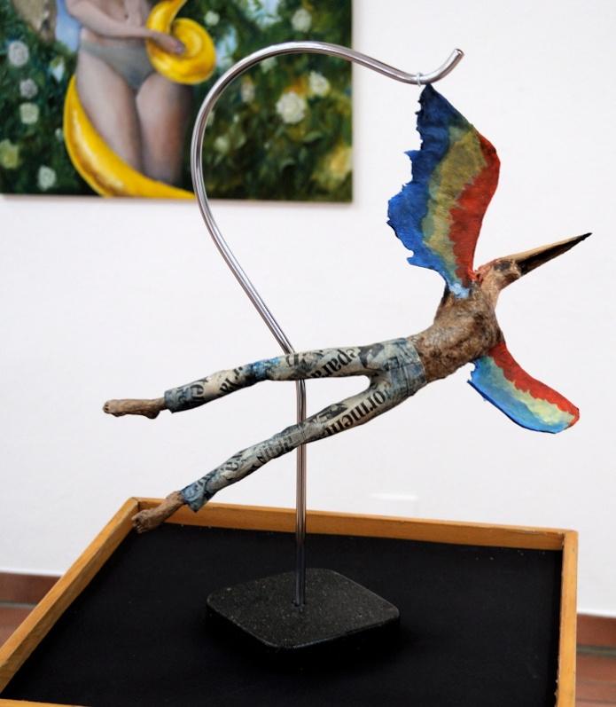Icarus / 80 x 43 x 23 cm