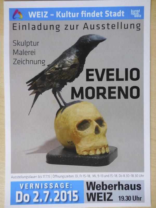 evelio moreno _bestiario_poster