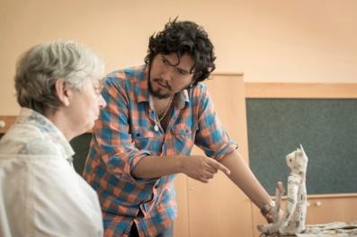 """Evelio Moreno """"cartonería-3"""" - foto Stephan Weixler"""