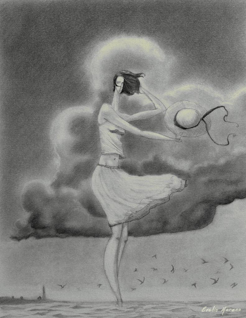 vestido al viento