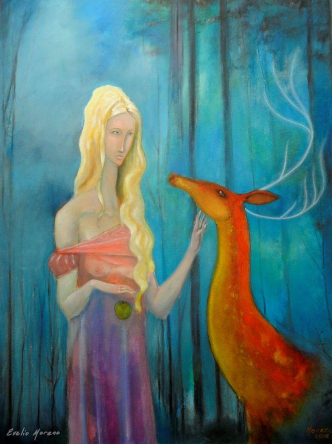 Espiritu del bosque / 60 x 80 cm