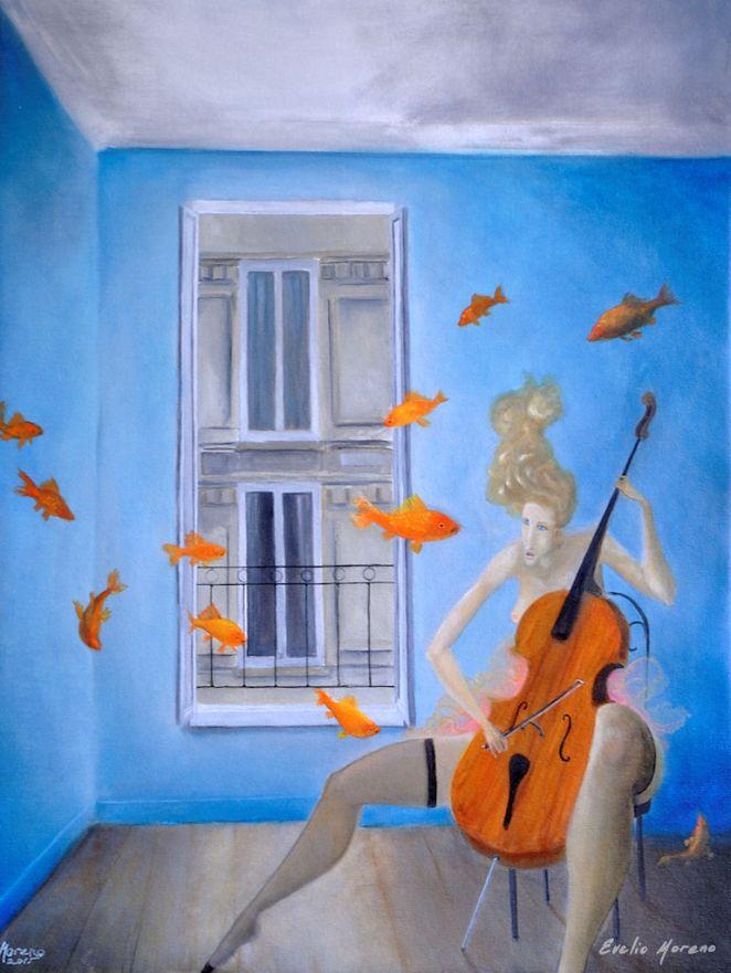 Sinfonia submarina/ 60 x 80 cm / oil on canvas / 2015